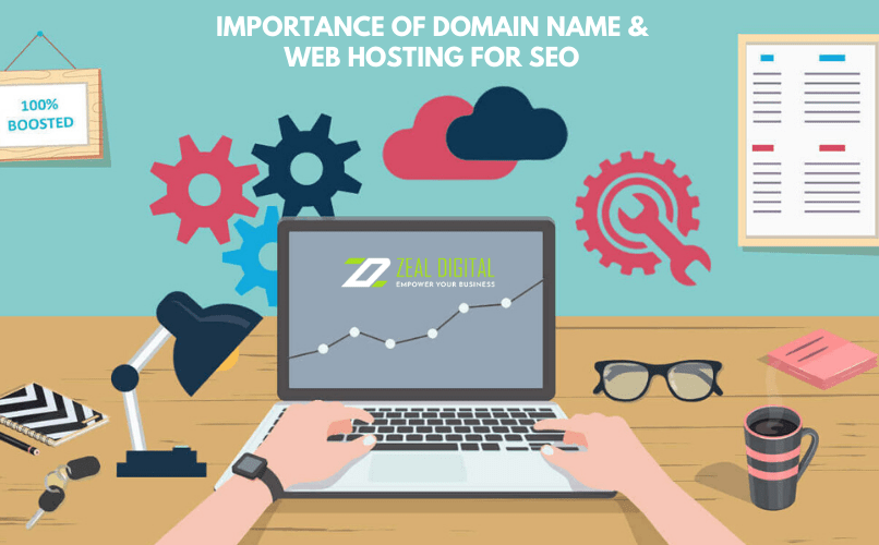 Domain Name & Web Hosting for SEO