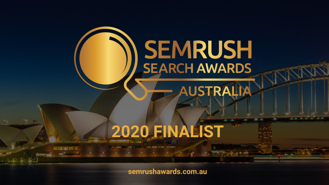 Semrush Search Awards Finalist 2020